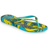 Schoenen Dames Slippers Havaianas SLIM SUMMER Blauw