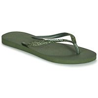 Schoenen Dames Slippers Havaianas SLIM GLITTER II Groen