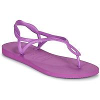 Schoenen Dames Sandalen / Open schoenen Havaianas LUNA Violet