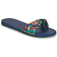 Schoenen Dames Slippers Havaianas YOU SAINT TROPEZ Blauw
