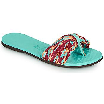 Schoenen Dames Slippers Havaianas YOU ST TROPEZ MESH Blauw
