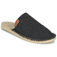 Schoenen Leren slippers Havaianas ESPADRILLE MULE ECO Zwart