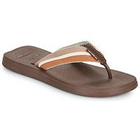 Schoenen Heren Slippers Havaianas NEW URBAN WAY Zwart / Brown