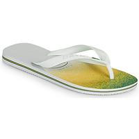 Schoenen Slippers Havaianas BRASIL FRESH Wit
