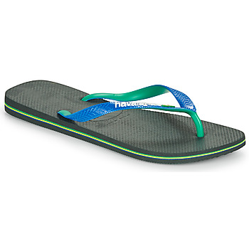 Schoenen Slippers Havaianas BRASIL MIX Zwart / Blauw
