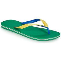 Schoenen Heren Slippers Havaianas BRASIL MIX Groen