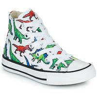 Schoenen Jongens Hoge sneakers Converse CHUCK TAYLOR HI Multikleuren