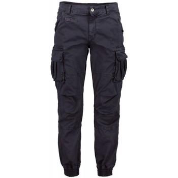 Textiel Heren Cargobroek Scout Cargo Men Blauwe Broek (pnt1389-blauw) Blauw