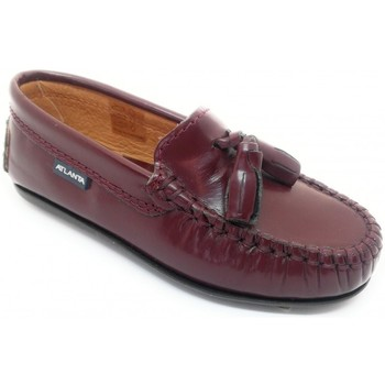 Schoenen Kinderen Mocassins Atlanta 24268-18 Bordeaux