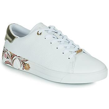 Schoenen Dames Lage sneakers Ted Baker TIRIEY Wit
