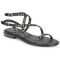 Schoenen Dames Sandalen / Open schoenen Ash PETRA Zwart