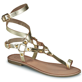 Schoenen Dames Sandalen / Open schoenen Les Petites Bombes BLEONA Goud