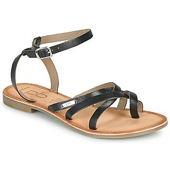 Schoenen Dames Sandalen / Open schoenen Les Petites Bombes BERYLE Zwart
