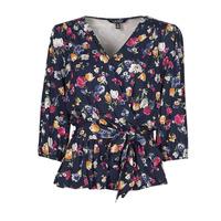 Textiel Dames T-shirts korte mouwen Lauren Ralph Lauren SHIANETA Multicolour
