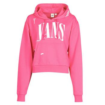 Textiel Dames Sweaters / Sweatshirts Vans WM KAYE CROP HOODIE Roze