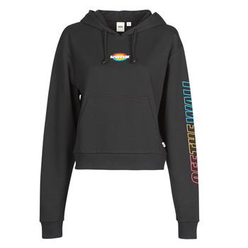 Textiel Dames Sweaters / Sweatshirts Vans WM OVAL TEEN HOODIE  zwart