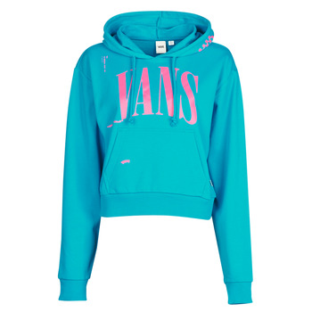 Textiel Dames Sweaters / Sweatshirts Vans WM KAYE CROP HOODIE Blauw