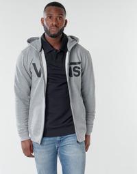 Textiel Heren Sweaters / Sweatshirts Vans VANS CLASSIC ZIP HOODIE Cement / Heather /  zwart