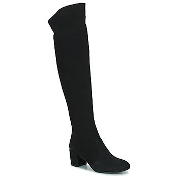 Schoenen Dames Hoge laarzen Minelli MILANIA Zwart