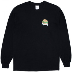 Textiel Heren T-shirts met lange mouwen Ripndip Fat hungry baby long sleeve Zwart