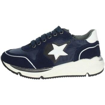 Schoenen Kinderen Lage sneakers Asso AG-8704 Blue