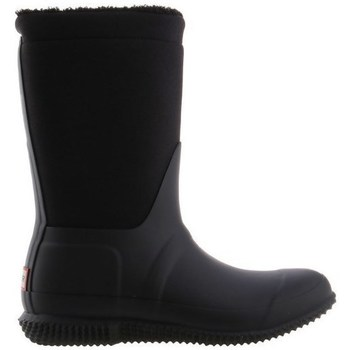 Schoenen Dames Regenlaarzen Hunter Original Insulated Roll Top Sherpa Boots Noir