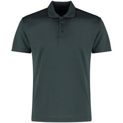 Textiel Heren Polo's korte mouwen Kustom Kit KK455 Grafietgrijs