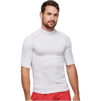 Textiel T-shirts korte mouwen Proact PA4007 Wit