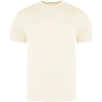 Textiel Heren T-shirts korte mouwen Awdis JT100 Vanille Milkshake