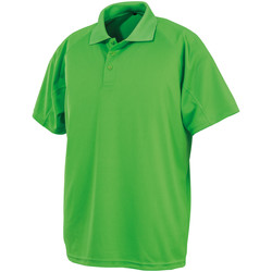 Textiel Polo's korte mouwen Spiro SR288 Lime Punch