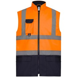 Textiel Jacks / Blazers Yoko YK215 Oranje/Zwaar