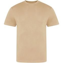 Textiel Heren T-shirts korte mouwen Awdis JT100 Naakt