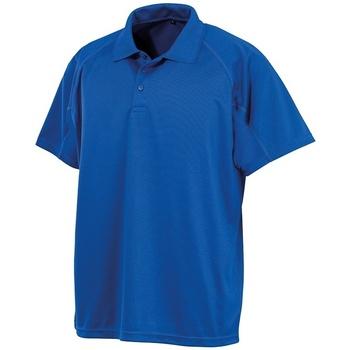 Textiel Polo's korte mouwen Spiro SR288 Koningsblauw