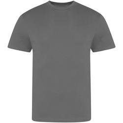 Textiel Heren T-shirts korte mouwen Awdis JT100 Houtskool