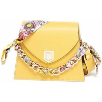 Tassen Dames Handtassen lang hengsel Maison Heritage ANA jaune