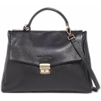 Tassen Dames Handtassen kort hengsel Maison Heritage BAGI NOIR