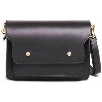 Tassen Dames Handtassen kort hengsel Maison Heritage KELY NOIR