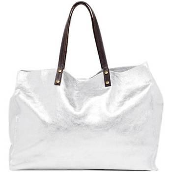 Tassen Dames Handtassen kort hengsel Maison Heritage NARY ARGENT