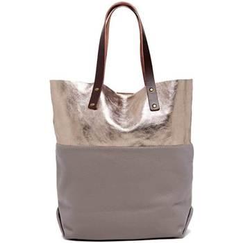 Tassen Dames Handtassen kort hengsel Maison Heritage ALON gris
