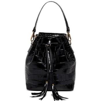 Tassen Dames Handtassen kort hengsel Abaco Paris MALIA noir
