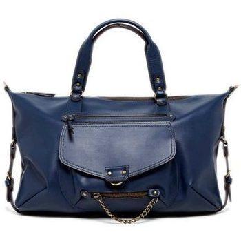 Tassen Dames Handtassen kort hengsel Abaco Paris ODELIA bleu