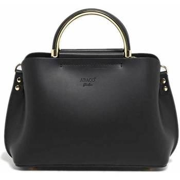 Tassen Dames Handtassen kort hengsel Abaco Studio PAM noir