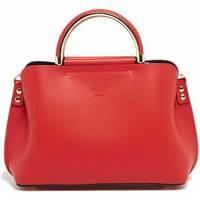 Tassen Dames Handtassen kort hengsel Abaco Studio PAM rouge