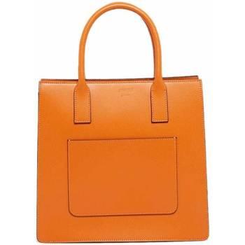 Tassen Dames Handtassen kort hengsel Abaco Studio LOU orange