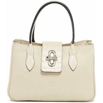 Tassen Dames Handtassen kort hengsel Abaco Studio MILA beige