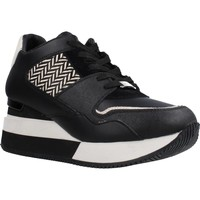 Schoenen Dames Lage sneakers Apepazza PONY HILARY Zwart