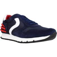 Schoenen Jongens Lage sneakers Voile Blanche LIAM POWER LACCIO Blauw