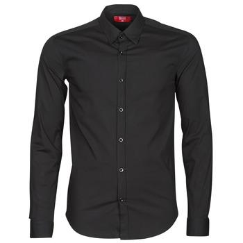 Textiel Heren Overhemden lange mouwen BOTD OMAN Zwart