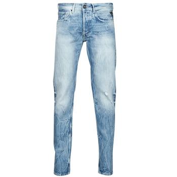 Textiel Heren Straight jeans Replay WIKKBI Super / Light / Blauw
