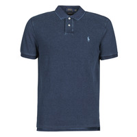 Textiel Heren Polo's korte mouwen Polo Ralph Lauren POLO AJUSTE DROIT EN COTON BASIC Blauw